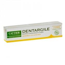 Cattier dentargile à l'huile essentielle de citron 75ml