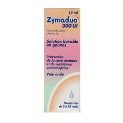 Zymaduo 300 UI solution buvable en gouttes 1 flacon de 12 ml avec compte-gouttes