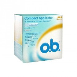 O.b. 16 Tampons Normal avec Applicateur