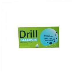 Drill allergie 10mg 7 comprimés