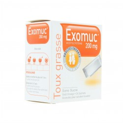 Exomuc orange 200mg 24 sachets