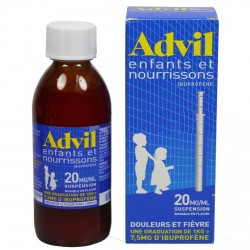AdvilMed sirop enfant nourrisson 200ml