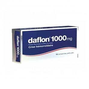 DAFLON 1000 MG 18 CP