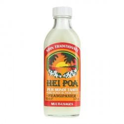 Hei poa pur monoï de Tahiti parfum frangipanier 100ml
