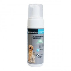 Biocanina shampoing mousse sans rinçage 150ml