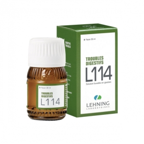 Lehning L114 troubles digestifs flacon-gouttes 30ml