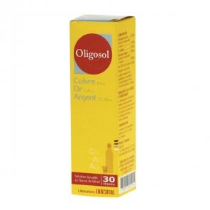Cuivre-Or-Argent Oligosol 60ml