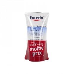 Eucerien crème mains réparatrice 5% urée 75ml x2